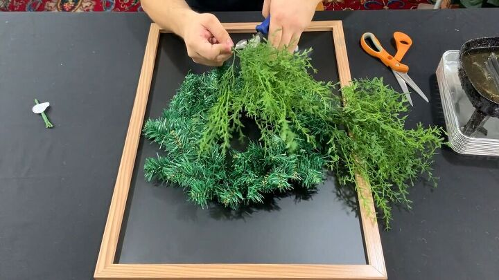 Greenery for your DIY fall wreath