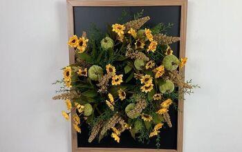 Create Your Own Fall DIY Chalkboard Wreath