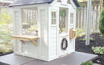 Prefab to Fabulous Upcycled Playhouse