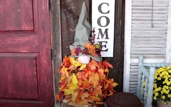 DIY a Friendly Fall Gnome for Your Home