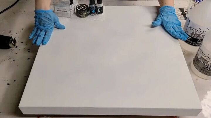 Prep for your faux marble table