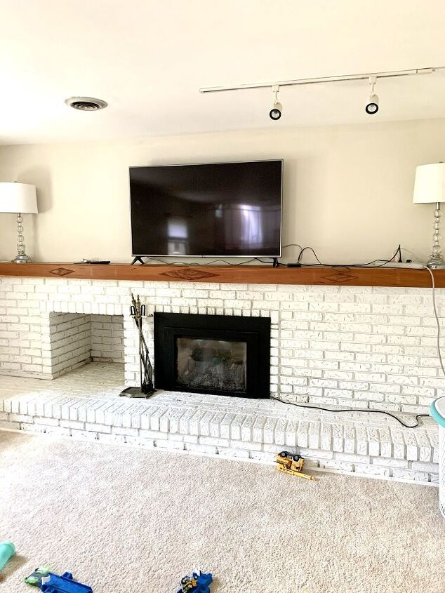 tv mount over the fireplace the trick
