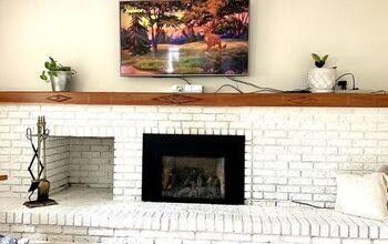 Tv Mount Over the Fireplace (the Trick)