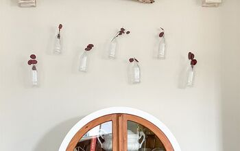 DIY Vintage Bottle Wall Art