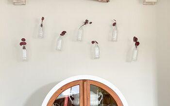 DIY Vintage Bottle Wall Art