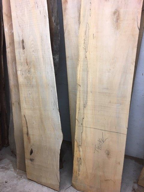Rough cut slabs