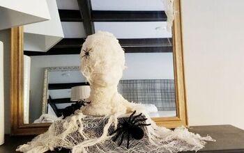 Spooky Mummy DIY