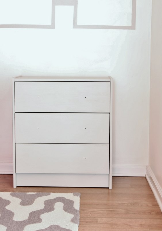 before and after ikea dresser makeover