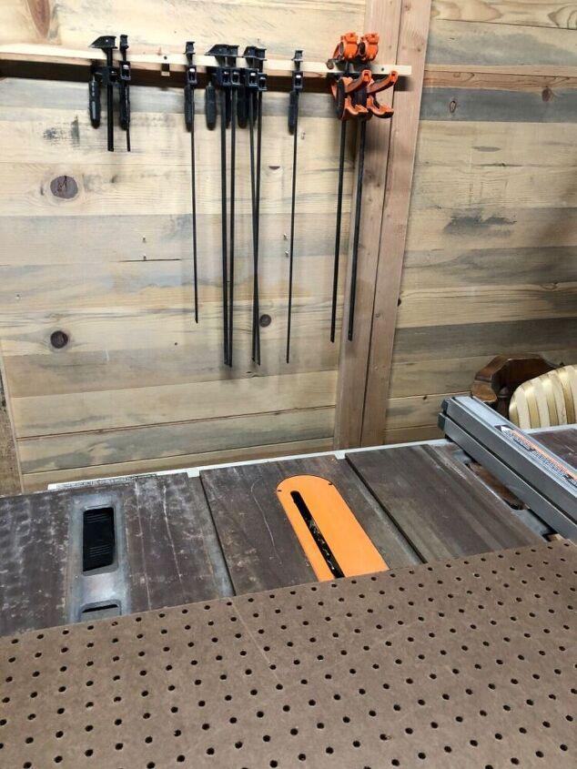 diy framed peg board