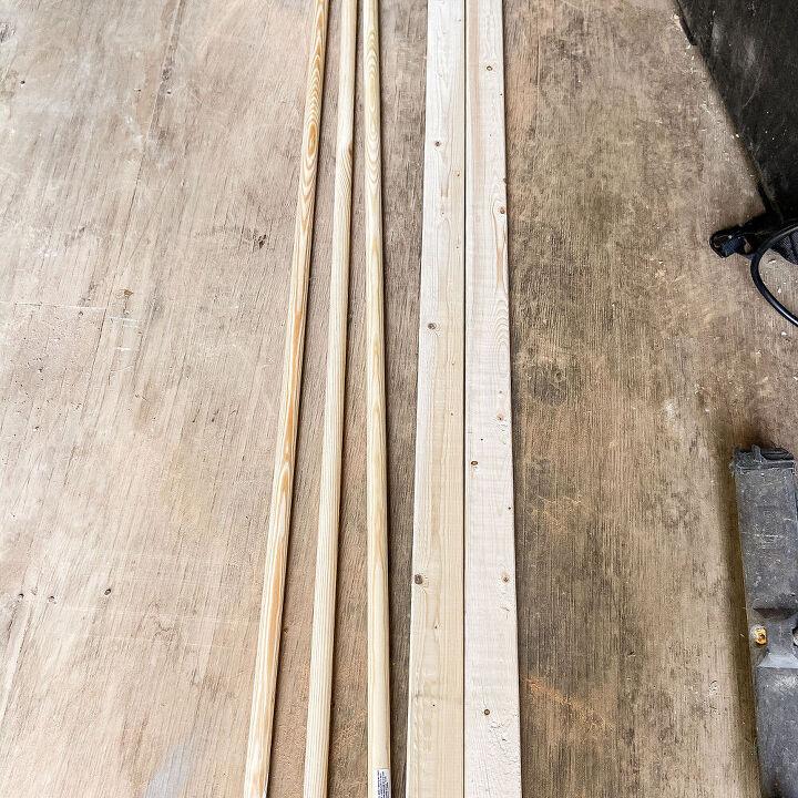easy rustic ladder tutorial