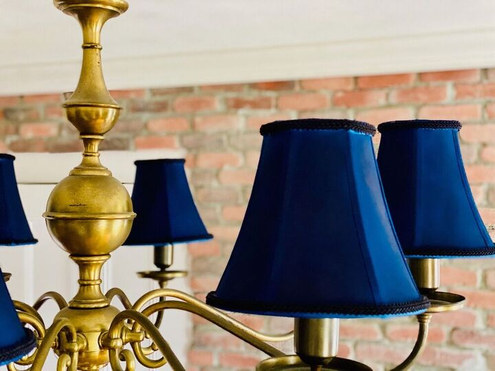the secret to painting fabric lampshades