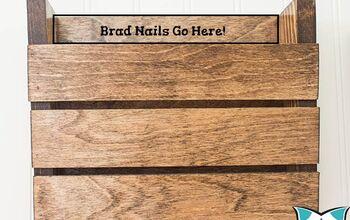 Scrap Wood Wall Organizer