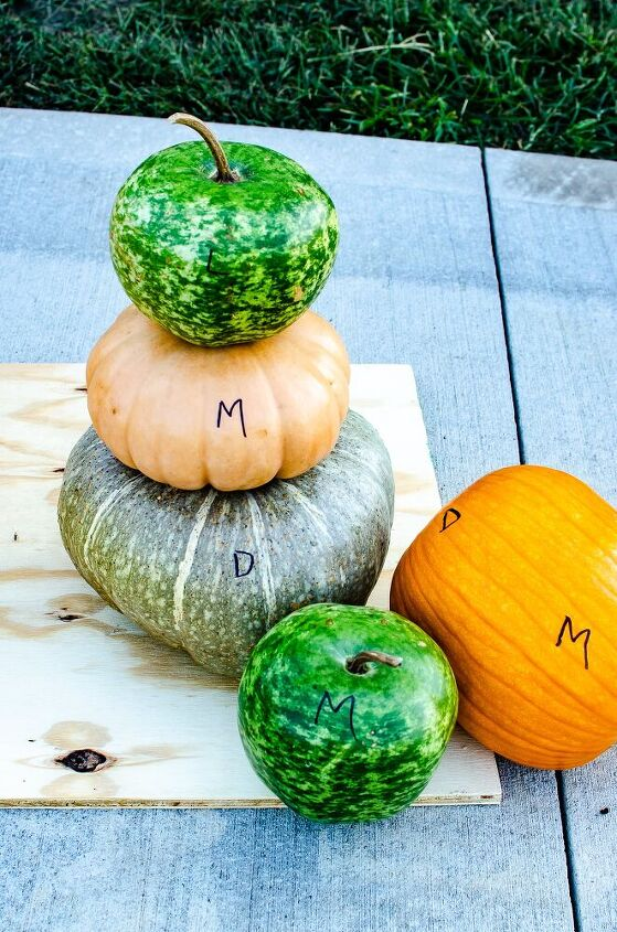 painted pumpkin idea the ombre look