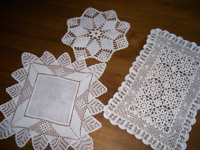 diy lace doily tealight holder