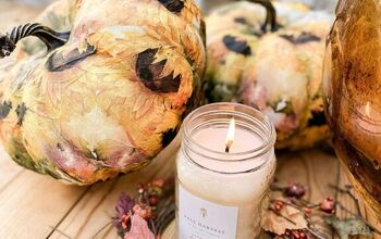 How to Napkin Decoupage Pumpkins