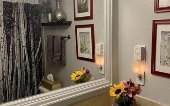 Inexpensive Bathroom Re-Do ...in the Colorado Mountains