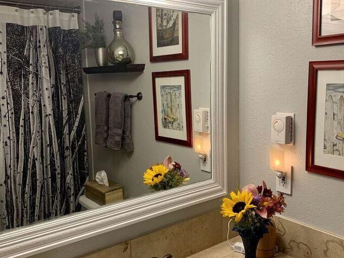 inexpensive bathroom re do in the colorado mountains