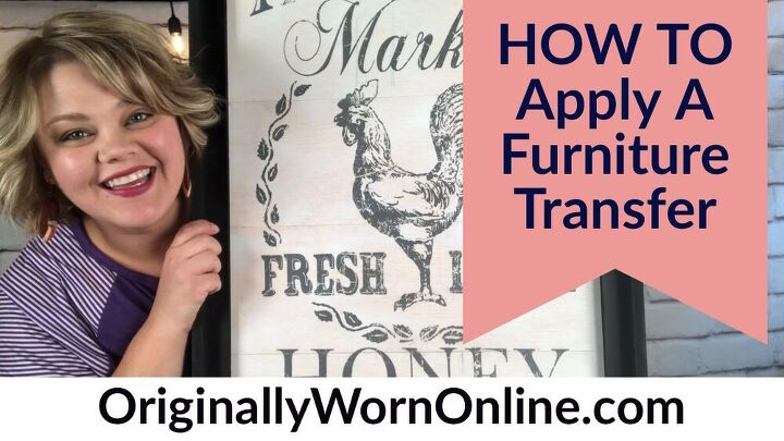 how to apply a furniture transfer
