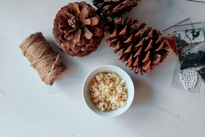 firestarter pine cones beautiful gift