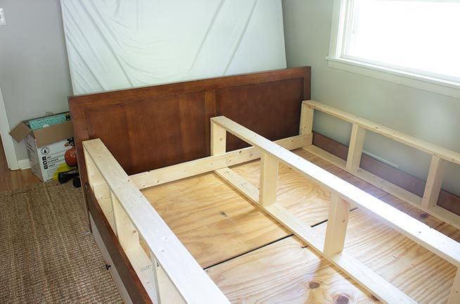 how to build a boxspring