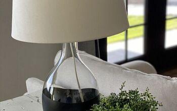 Easy 1 Hour Modern Lamp Makeover