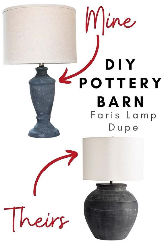easy 4 pottery barn lamp dupe
