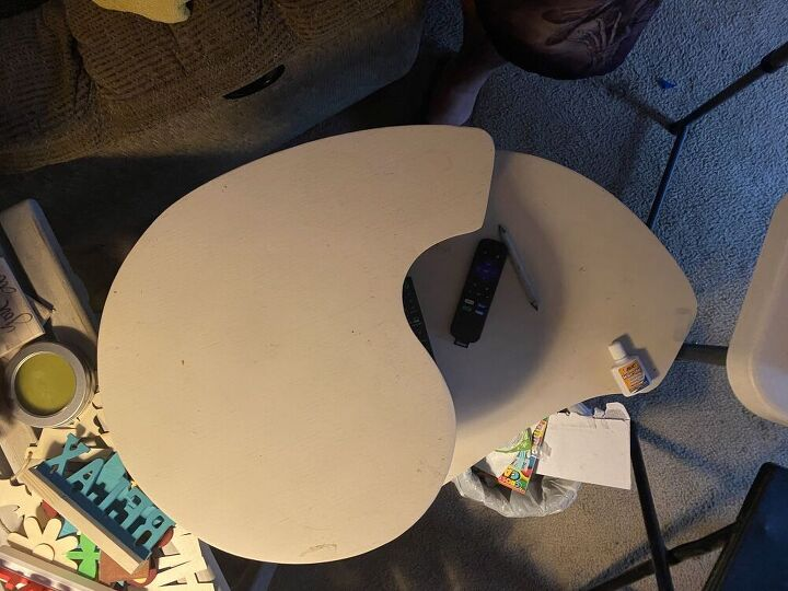 q how can i repurpose these bedside tables