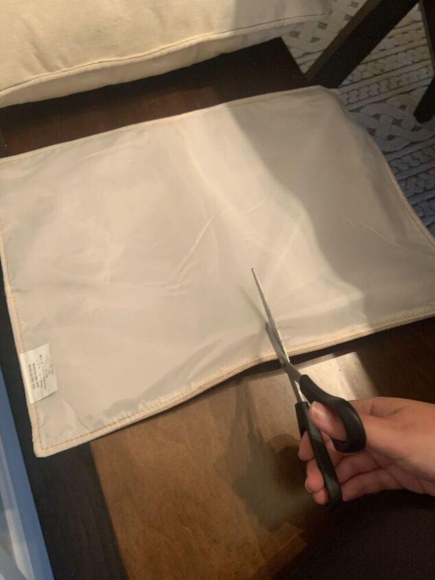 the easiest no sew diy pillowcase