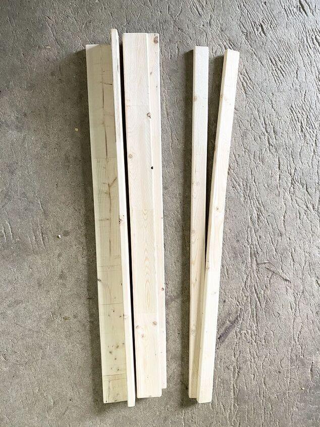 wood book ledge shelves