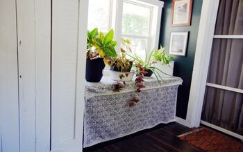 Creating Hidden Storage in Our Entryway