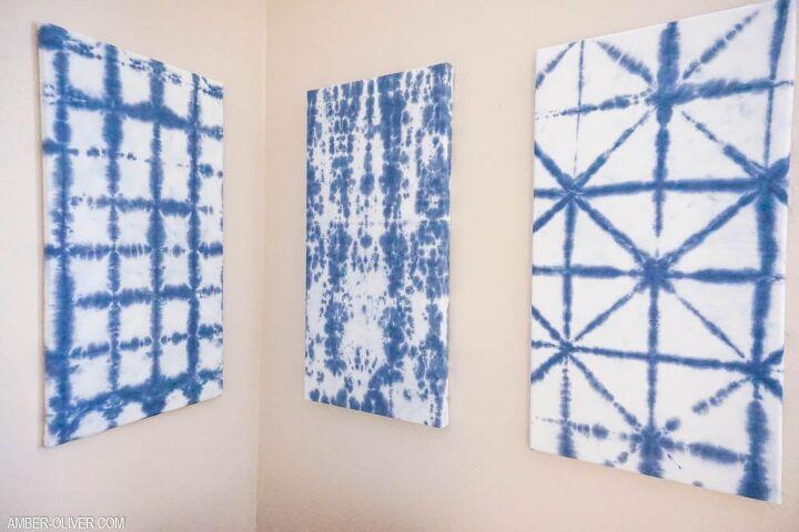 tie dye wall decor