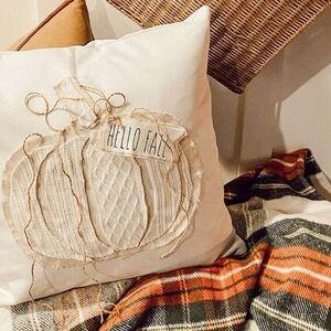 Decorative Pumpkin Pillow