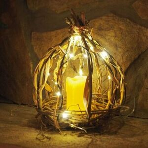 Pumpkin Basket Lantern
