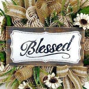 Blessed Farmhouse Wreath