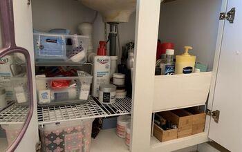 7 Steps to Organizing Under the Bathroom Sink