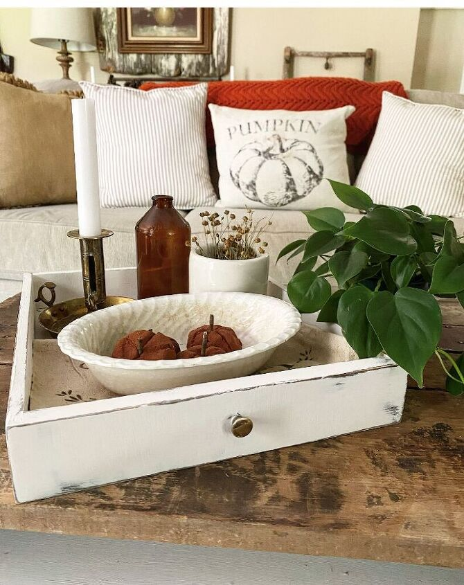 how to make a coffee table centerpiece