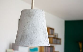 DIY Concrete Lamp Without Pouring