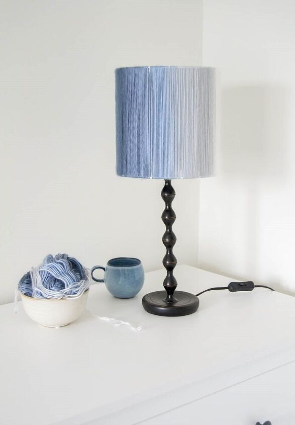 lampshade from wool