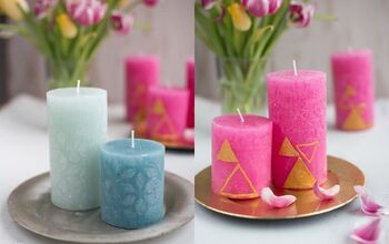 DIY Candle Designs – 3 Variants