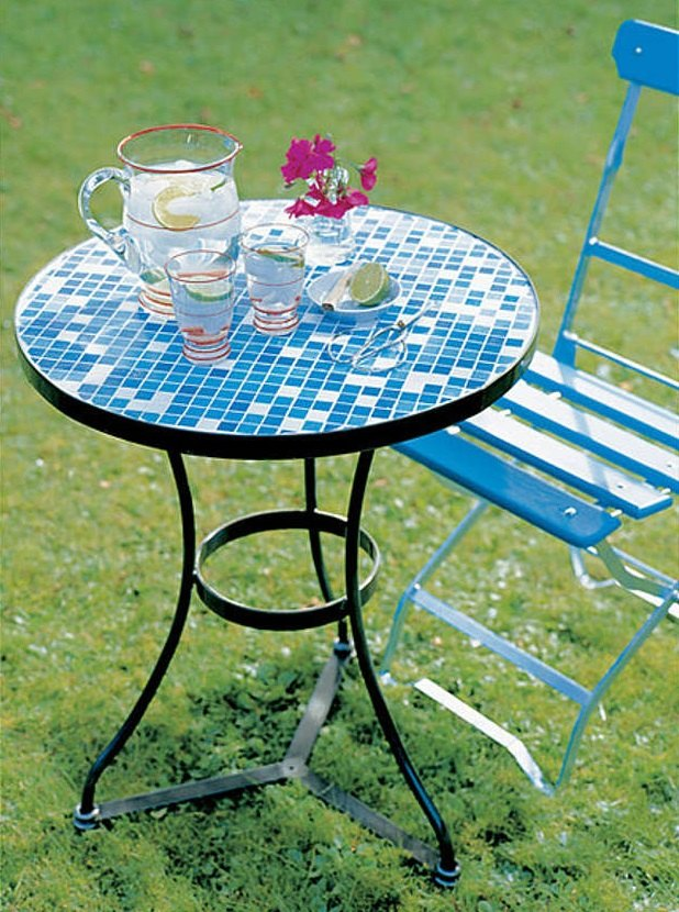 design a mosaic table