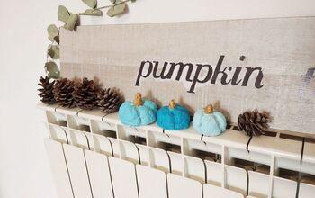 Pumpkin Sign- Image Transfer