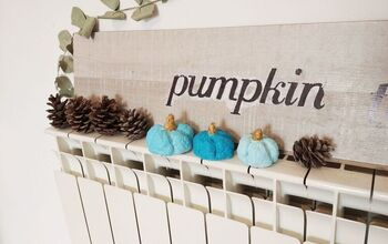 Paper Clay Pumpkins