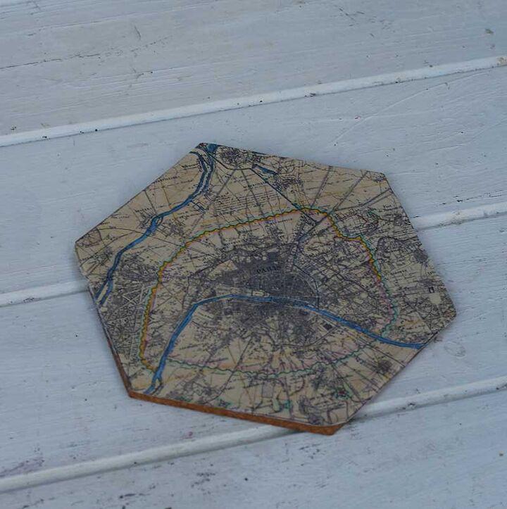 personalized map cork board