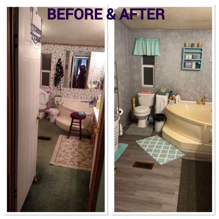 q redoing a master bathroom