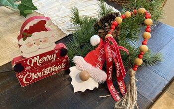 Dollar Tree Gnome Ornaments