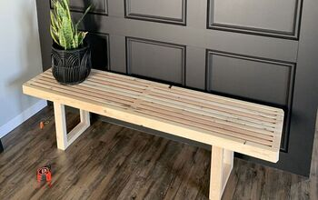 Slat Style Bench