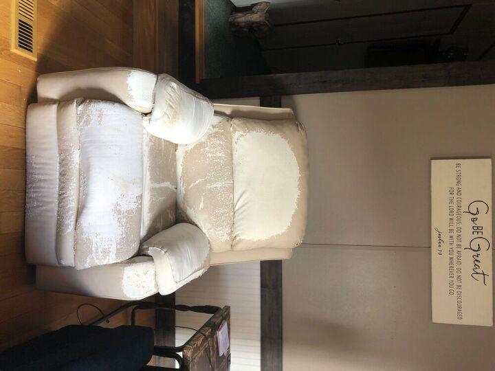 q how do i redo this recliner