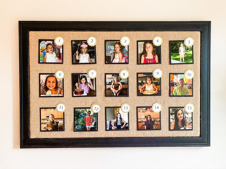 how to create a birthday photo display in 5 easy steps