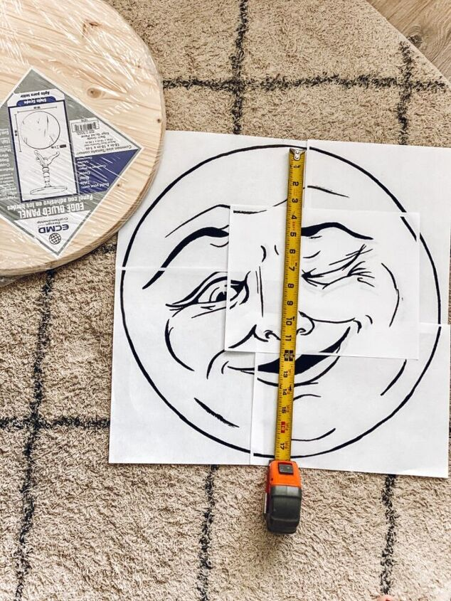 diy man in the moon sign