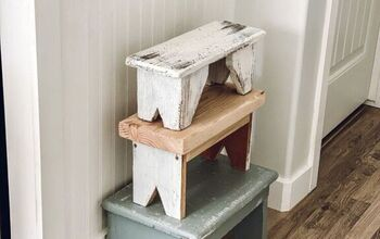 DIY Vintage Inspired Step Stool